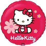 Balão Metalizado Flexmetal Hello Kitty Flores. Mais modelos em: www.flexmetal.com.br #balao #balaodecoracao #balaopersonalizado #balaometalizado #balaodefesta #baloesmetalizados #Flexmetal #baloespersonalizados #balloons #alegria #festa #hellokitty