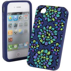 Vera Bradley Silicone Case ($28) ❤ liked on Polyvore