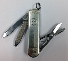 Tiffany & Co. 1837 Collection Victorinox Sterling Silver Swiss Army Knife #TiffanyCo