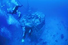 scuba+diving+south+pacific | Allan Power Dive - Henry Bonneaud Wreck Diving Vanuatu