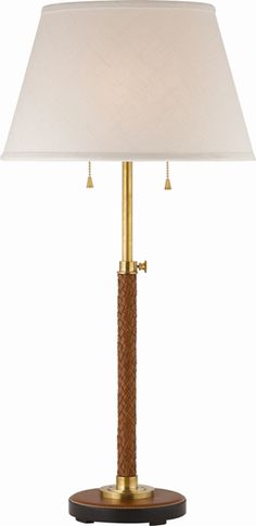 PIERSON TABLE LAMP WITH LINEN SHADE