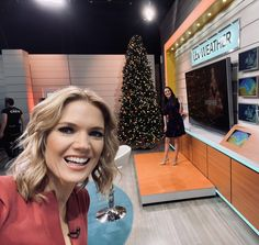 """Charlotte Hawkins on Twitter: """"Morning! It's a festive hello from @Lauratobin1 & me this morning on @gmb 👋🎄… """""""