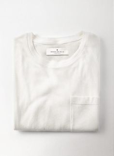 imogene + willie · classic knit pocket tee