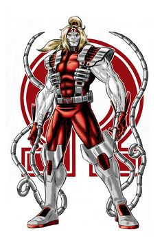 Omega Red (x-men villain) (wolverine villain) Comic Book Characters, Comic Book Heroes, Marvel Characters, Comic Character, Comic Books Art, Comic Art, Marvel Dc, Marvel Comics Art, Marvel Heroes