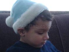 I got at blue Santa hat, do you?