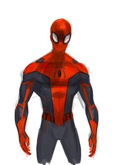 Quick spidey sketch, Rose Davies on ArtStation at… Spiderman Drawing, Spiderman Art, Amazing Spiderman, Best Marvel Characters, Comic Book Characters, Marvel Vs, Marvel Heroes, Power Rangers, Superhero Art Projects