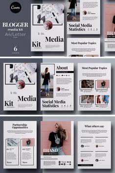 I will build responsive wordpress website design and store Kit Media, Mise En Page Portfolio, Kit Design, Media Kit Template, Page Template, Templates Free, What Is Fashion Designing, Magazine Layout Design, Newspaper Design