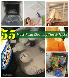 55 Must-Read Cleaning Tips and Tricks | DIYSelfies