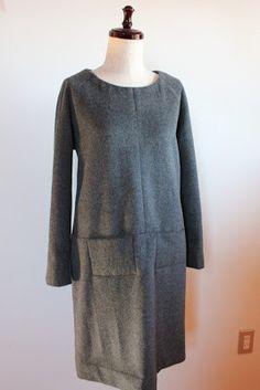 Merchant & Mills, The Top No.64 Winter Dress to Sew