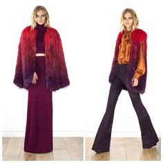 70's homage at Rachel Zoe Cruise/Resort 2016