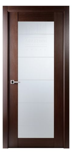 Arazzinni Maximum 209 Interior Door In A Wenge Finish With Frosted Glass