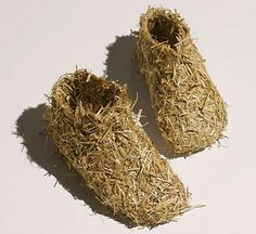 Are These Straw Shoes Made For Walking? : TreeHugger