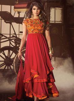 Indian Party Wear 2015 - 2016  Priyanka Chopra