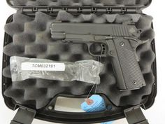 Used Rock Island Armory 1911-A1 Tactical 22TCM/9mm $675 - http://www.gungrove.com/used-rock-island-armory-1911-a1-tactical-22tcm-9mm-675/