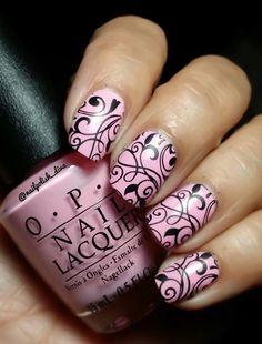 Nailpolis Museum of Nail Art | Chic Pink ! by Marilyn