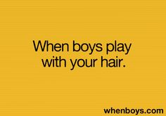 play with your hair
