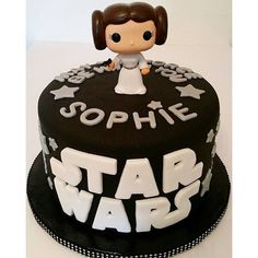 Pin for Later: May the Force Be With Your Birthday Cakes Princesses Allowed Buns encouraged.