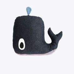 Whale Cushion - super cute! but not worth 55 bucks! I could easily make that!
