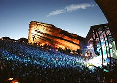 Red Rocks in Morrison, CO.  For heaven's sake, go see a show there before you die!!