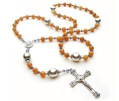 https://www.etsy.com/listing/92723762/catholic-rosary-sterling-silver-beaded