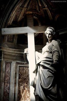 St. Peters Basilica. Vatican City, Rome. July 2009.