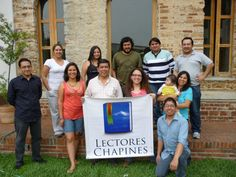 Reunión de Lectores Chapines con Rafael Romero.  Abril 2014