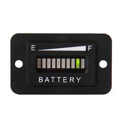48V Battery Indicator Meter Gauge Charge Discharge Tester LED Battery Status Charge Indicator Monitor Meter Gauge #Affiliate