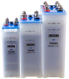 Nickel Iron (Ni-Fe) Battery