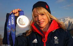 Jenny Jones - Snowboarder who won Britains first medal (Bronze) on snow at 2014 Winter Olympics Snowboarding, Skiing, Jenny Jones, Team Gb, Sports Stars, Winter Olympics, Olympians, Cycling, Rain Jacket