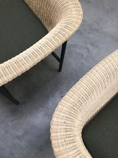 WICKED Armchair and Sofa   Design Alain Gilles for VINCENT SHEPPARD - Side table coffee tables sofa armchair wicker rattan woven furniture design wood steel outdoor indour
