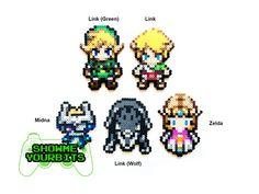 DÉTAILS DE LARTICLE : Ce sont 100 % fait main légende de Zelda Sprites. Ils sont fabriqués à partir des perles en plastique qui ont été fusionnés.