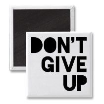 Don't Give Up by http://Label-Me-Happy.com