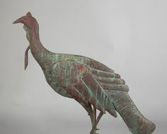 Lot: Copper Turkey Weathervane, Lot Number: 0674, Starting Bid: $500, Auctioneer: Cottone Auctions, Auction: Fine Art, Antiques & Modern Design, Date: September 23rd, 2017 CDT