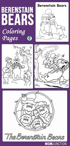 Top 10 Berenstain Bears Coloring Pages For Your Toddlers