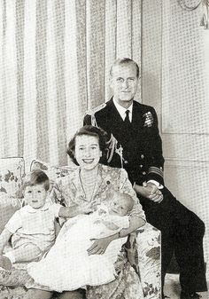(Future) Queen and family, 1951 by petkenro, via Flickr