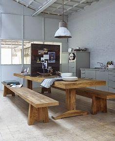 Méchant Studio Blog: want a farm table...