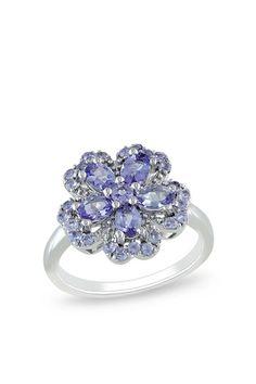stunning tanzanite - want!