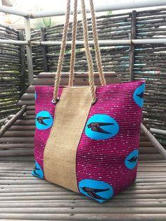 Ankara Bags, African Accessories, Burlap Bags, Art Craft Store, Fabric Bags, Shopper Bag, Printed Bags, Fashion Sewing, African Fabric