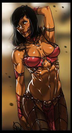 Mortal Kombat X - Mileena by Ganassa on @DeviantArt