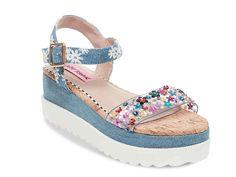 4a36ae70f Betsey Johnson Faegan Wedge Sandal Women's Shoes | DSW Betsey Johnson,  Retro Fashion, Wedge