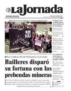 CONTRARIO A LA LIBERTAD SINDICAL,FALLO DE LA JUNTA LOCAL DE CONCILIACION Y ARBITRAJE  DE COAHUILA.Portada de 2015/11/06. Seleccione para ir a esta edición.