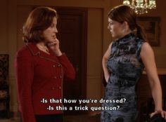 gilmore girls- trick question