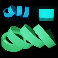 Luminous Tape Self-adhesive Green Blue Glowing In The Dark Safety Stage Decor Sticker - KotiMart. App Store, Light Blue Green, Stickers Online, St Kitts And Nevis, Night Light, Painted Furniture, The Darkest, Lights, Safety