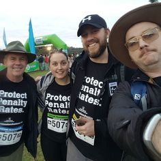 About to start the 2017 oxfam trailwalk to raise awareness about Protecting Penalty Rates and raising money for Oxfam's great work. #protectpenaltyrates #qldunions #otwb  #otwb2017