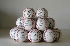 Notable Nest: Baseball Party Invitations - these are awesome!