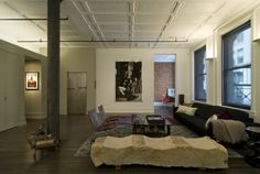David Howell Design - contemporary - living room - new york - David Howell Design