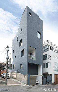 반전 있는 협소주택, 성북동 적은집(積恩集) : 네이버 포스트