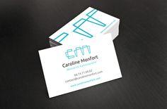 Print graphic design pour Caroline Monfort.