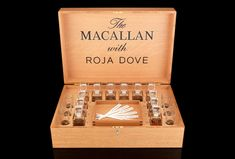 The Macallan and Roja Dove Sensory Experience  The master perfumer creates an olfactory experience as a unique educational tool for understanding the flavors of Scotch whisky