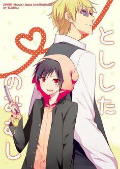 Izaya & Shizuo | Durarara!! #anime
